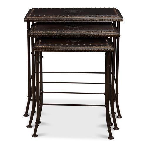 Noble Nesting Tables, Set Of 3