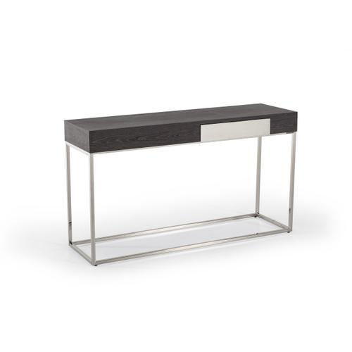 Modrest Vernon Modern Grey Elm Console Table