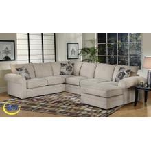 Ridge Chocolate/Mandarin LF Sofa