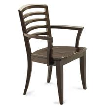 See Details - Model 27 Arm Chair Wood Seat