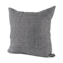 See Details - Ramone 20 x 20 Black and White Fabric Decorative Pillow Cover
