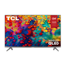 "TCL 75"" Class 6-Series 4K QLED Dolby Vision HDR Smart Roku TV - 75R635"