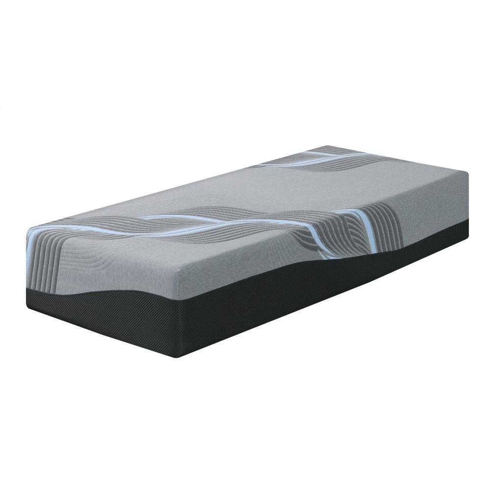 "Emerald Home Mattress Midnight II 14"" Gel-memory Foam Twin 3/3 Es5214tm-01"
