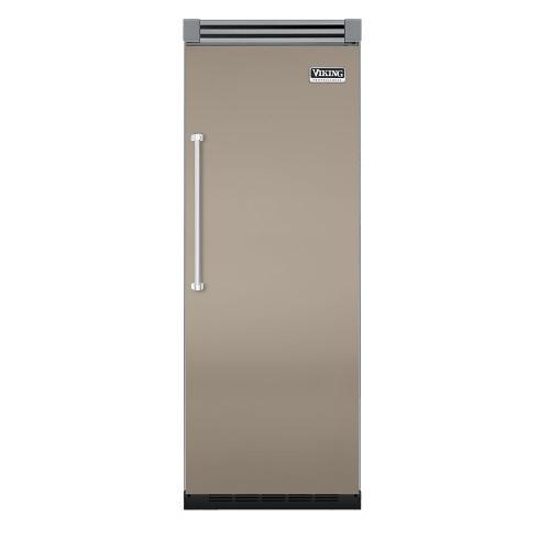 "Viking - Taupe 30"" Quiet Cool™ All Refrigerator - VIRB Tru-Flush™ (Right Hinge Door)"