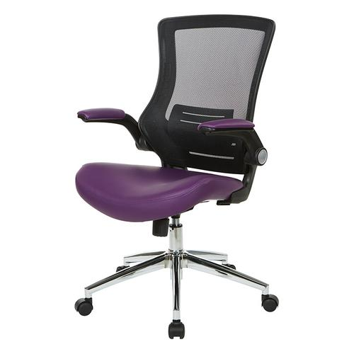 Black Screen Back Manager's Chair