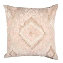"Corinne 20"" Square Embroidered Pillow, Multi Colored"
