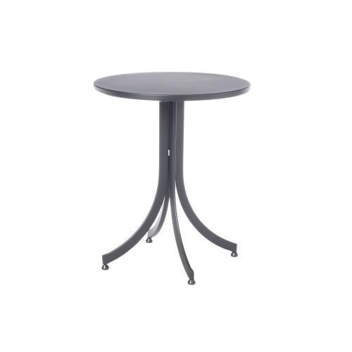 """Maribo 24"""" Round Aluminum Flip Top Bistro Table"""