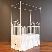 See Details - Parisian 3 In 1 Crib Distressed White