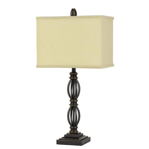 150W 3 Way Mondovi Metal Table Lamp