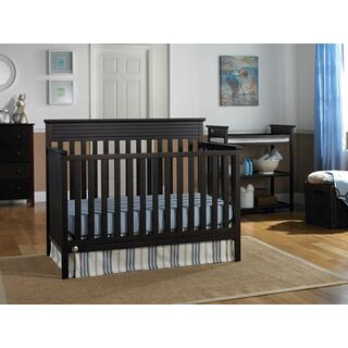 Fisher-Price Newbury Convertible Crib, Espresso