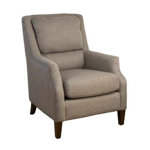 Chandler Pillow Back Accent Chair- Ash