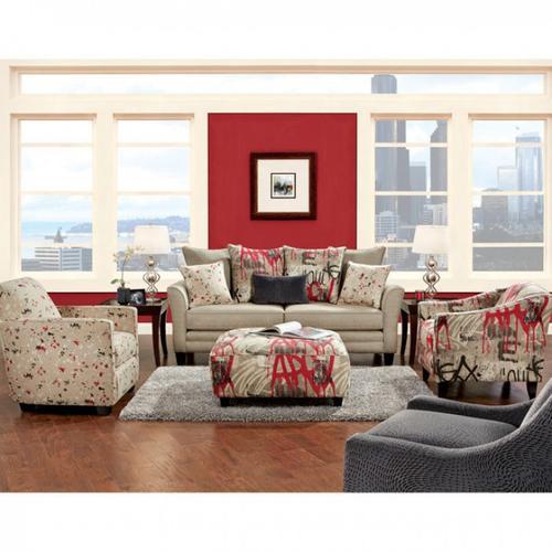 Furniture of America - Blakey Ottoman