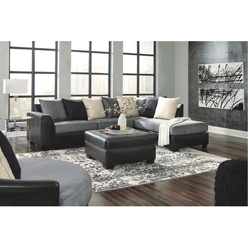 Signature Design By Ashley - Jacurso 2-piece Sectional With Chaise