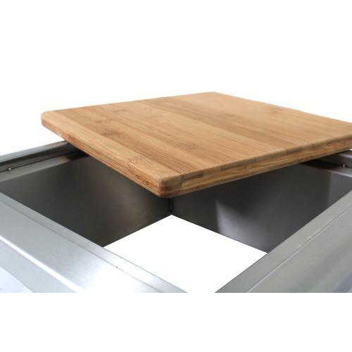 Blaze 15 Inch Trash Chute With Cutting Board