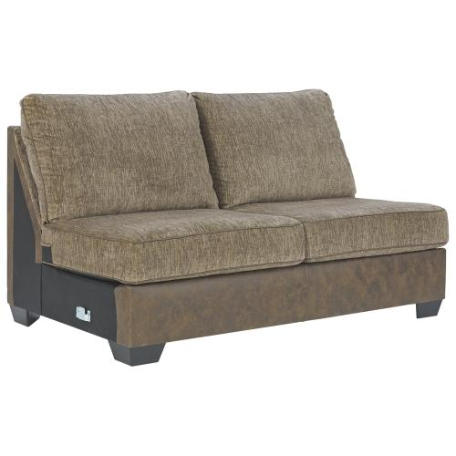 Abalone Armless Loveseat