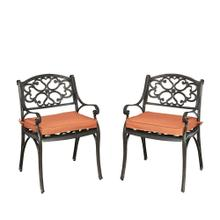 Sanibel Chair With Cushion (set of 2)