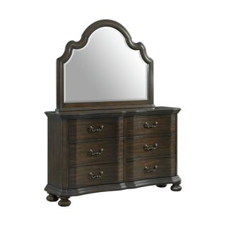 See Details - Avery 6-Drawer Dresser with Mirror