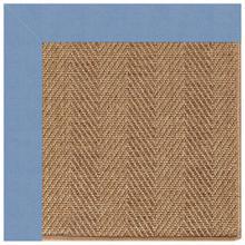 "Islamorada-Herringbone Canvas Air Blue - Rectangle - 24"" x 36"""