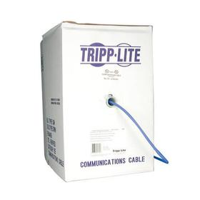 Cat5e 350 MHz Stranded-Core (UTP) PVC Bulk Ethernet Cable - Blue, 1000 ft., TAA
