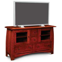 "Aspen TV Stand with Inlay, 72""w"