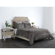 See Details - Bari Velvet Desert 4Pc King Quilt Set