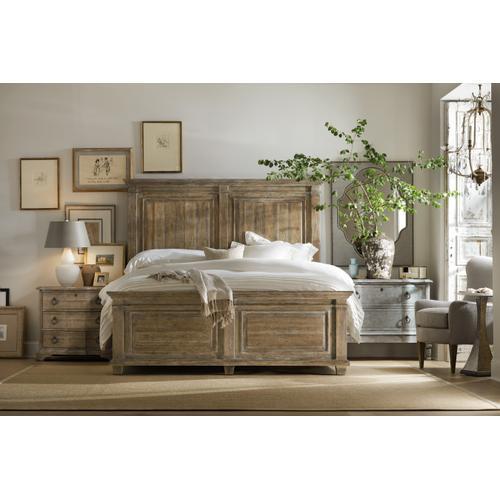 Boheme Laurier Queen Panel Bed