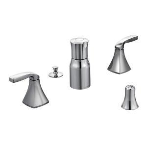 Voss chrome two-handle bidet faucet Product Image