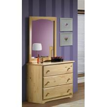 See Details - Single Dresser With Landscape Mirror