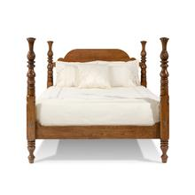 Traditional Arched Custom Bed