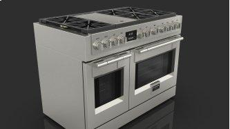 """48"""" All Gas Pro Range - Stainless Steel"""