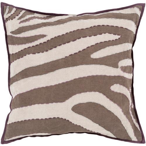 """Surya - Zebra LD-041 18""""H x 18""""W"""