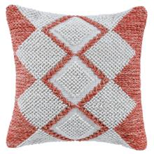 See Details - Retired Harlequin Pillow, RED, 22X22