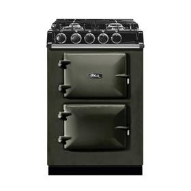 """AGA City 24"""" Electric/Natural Gas Pewter with Stainless Steel trim"""