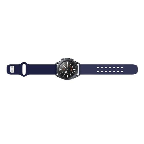 Quick Change Silicone Sport Watch Band (20mm) Navy Blue