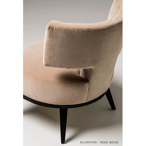 Silverton - T-Back Salon Chair - American Leather