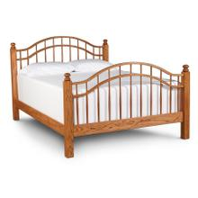 Double Bow Bed, King