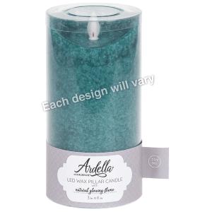 Wax LED Pillar