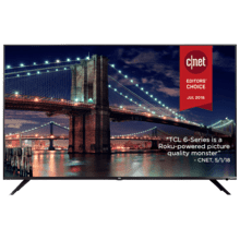 "TCL 55"" Class 6-Series 4K UHD Dolby Vision HDR Roku Smart TV - 55R617"