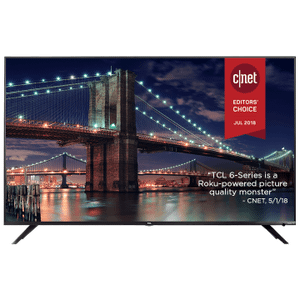"TCL 55"" Class 6-Series 4K UHD Dolby Vision HDR Roku Smart TV - 55R613"