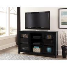 "60"" Black Folding TV Console"