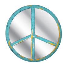 Peace Sign Wall Mirror