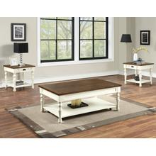 Product Image - Joanna 3-Piece Occasional Set (Coffee Table & 2 End Tables)