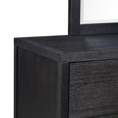 Thomas Black 6-Drawer Dresser, Black