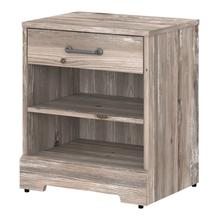 River Brook Bedroom End Table with Storage - Barnwood
