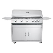 "View Product - 40"" Premier ""L"" Freestanding Grill - RJC40AL CK - Natural Gas"