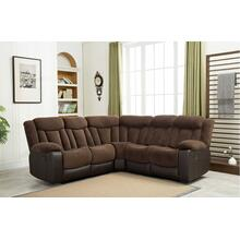 8006 Two-Tone Sectional Sofa