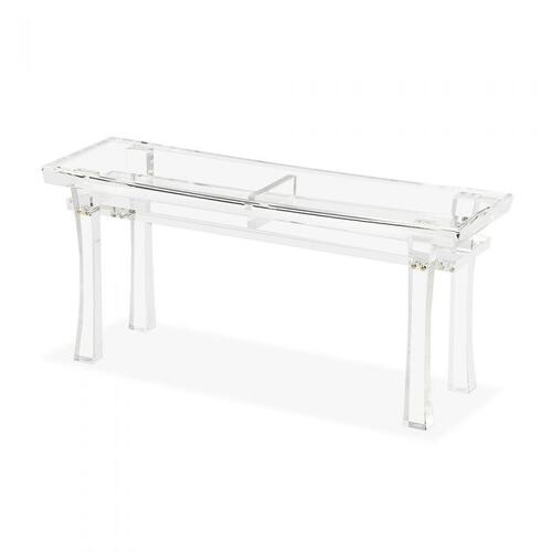 Keiko Acrylic Bench