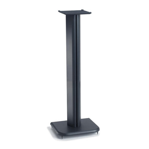 Black Basic Series 31-inch tall for small bookshelf speakers
