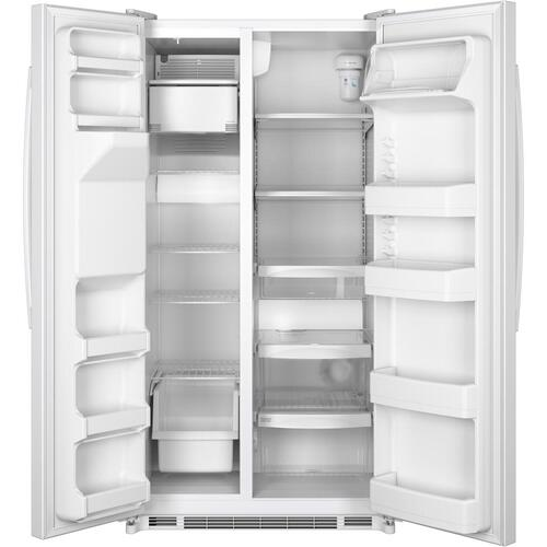 GE® 24.7 Cu. Ft. Side-By-Side Refrigerator