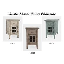 Product Image - Rustic Shores Power Chairside - Watch Hill Weathered Grey